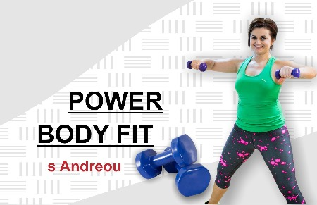 POWER BODY FIT s Andreou v sobotu 24.2.!